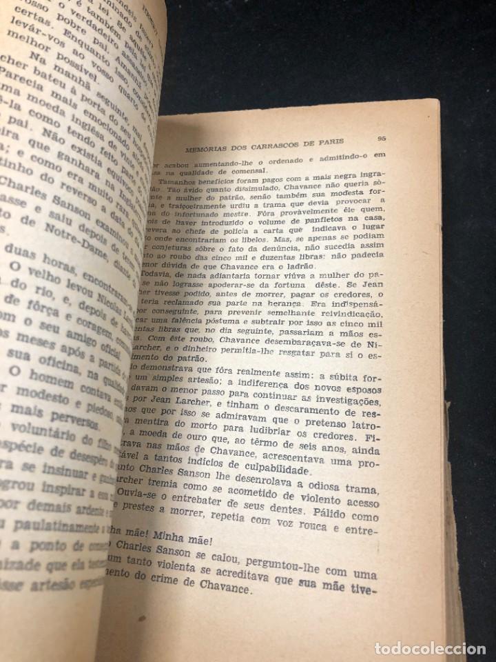 Libros de segunda mano: Memórias dos Carrascos de Paris. Henry Sanson. 1946 Empresa gráfica O Cruzeiro Brasil. Portugués. - Foto 10 - 265340744