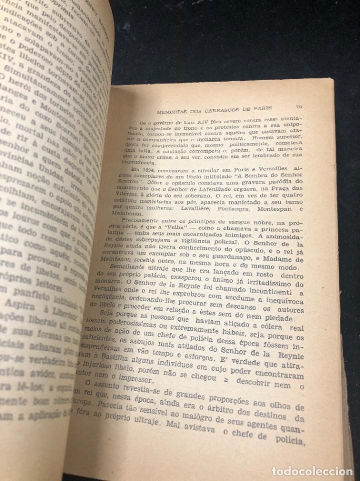 Libros de segunda mano: Memórias dos Carrascos de Paris. Henry Sanson. 1946 Empresa gráfica O Cruzeiro Brasil. Portugués. - Foto 11 - 265340744
