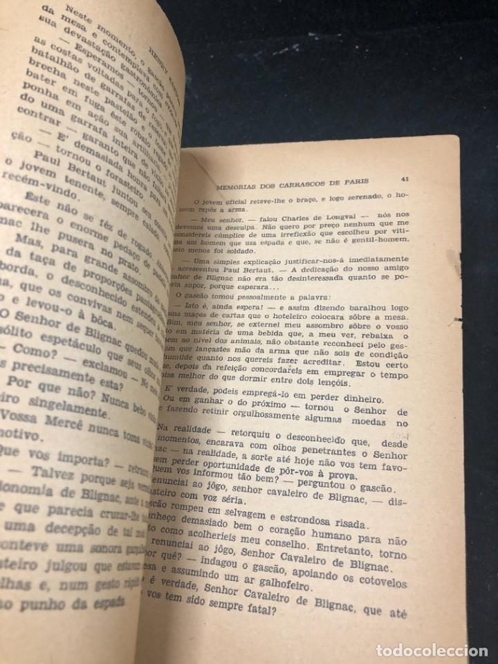 Libros de segunda mano: Memórias dos Carrascos de Paris. Henry Sanson. 1946 Empresa gráfica O Cruzeiro Brasil. Portugués. - Foto 14 - 265340744