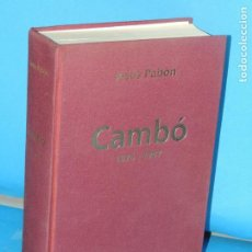 Libros de segunda mano: CAMBÓ 1876- 1947.- JESÚS PABÓN. Lote 268262714