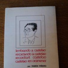 Libros de segunda mano: LEMBRANDO A CASTELAO(1975). Lote 268316674