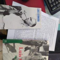 Libros de segunda mano: LUIS CERNUDA 1900 2963 LIBRO PUBLICIDAD Y CENTENARIO ESCRITO. Lote 268833349