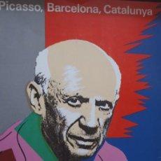Libros de segunda mano: PICASSO ,BARCELONA,CATALUNYA - ED. L'AVENC - 1981. Lote 268884274