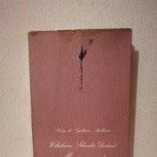 Libros de segunda mano: LIBRO - MEMORIAS DE UNA CANTANTE ALEMANA - BIOGRAFIA - WILHELMINE SCHROEDER-DEVRIENT. Lote 269015524