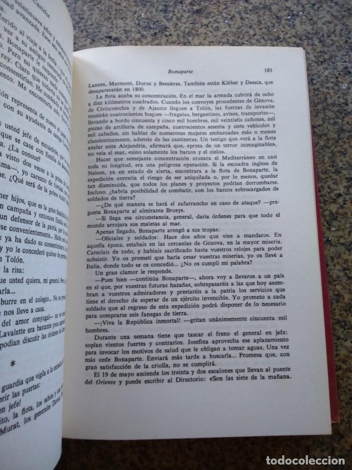 Libros de segunda mano: BONAPARTE - TOMO 1 - ANDRE CASTELOT -- ESPASA CALPE 1970 -- GRANDES BIOGRAFIAS -- - Foto 2 - 269060663
