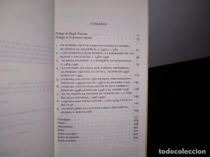 Libros de segunda mano: 25- Cristóbal Colón - Felipe Fernández-Armesto - Foto 4 - 269062773