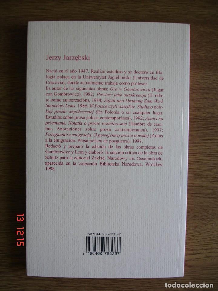 Libros de segunda mano: SCHULZ - JERZY JARZEBSKI - MALDOROR EDICIONES, 2003 - 1ª EDICIÓN - MUY BUEN ESTADO - Foto 2 - 269073523
