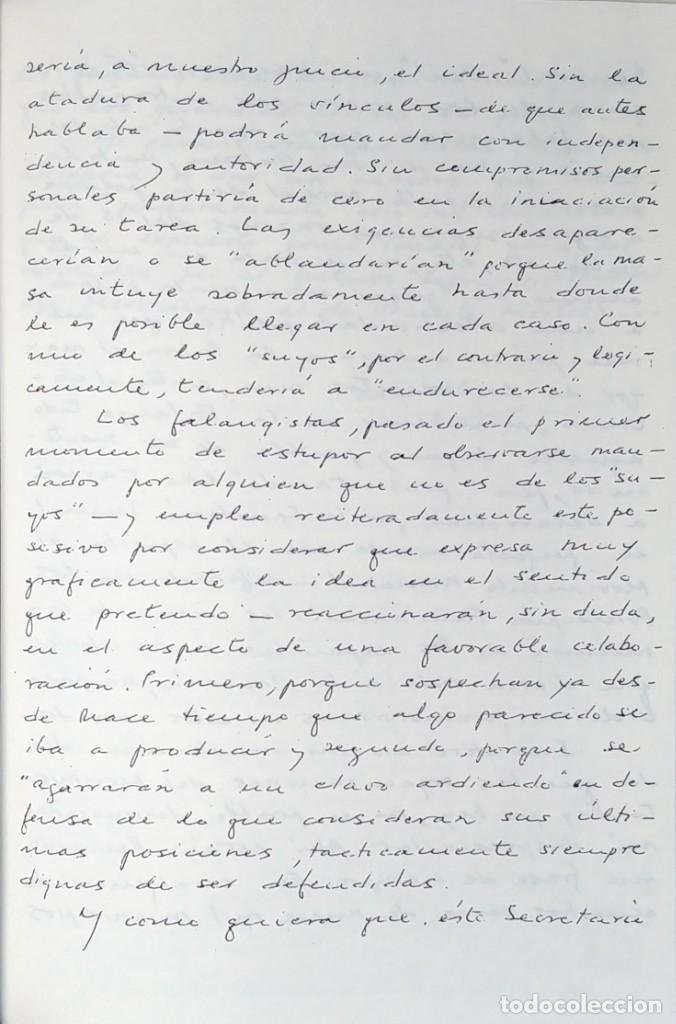 Libros de segunda mano: MEMORIAS. AÑOS DECISIVOS. EL PRINCIPIO DEL FIN / LAUREANO LÓPEZ RODÓ. DEDICATORIA DEL AUTOR (3 VOL.) - Foto 10 - 269078733