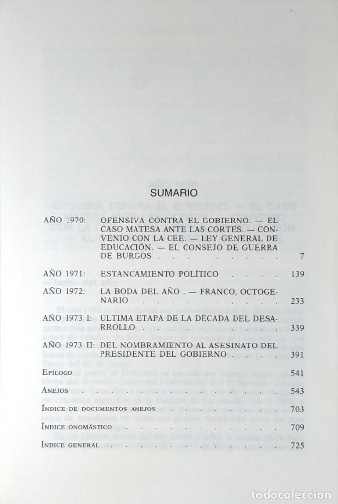 Libros de segunda mano: MEMORIAS. AÑOS DECISIVOS. EL PRINCIPIO DEL FIN / LAUREANO LÓPEZ RODÓ. DEDICATORIA DEL AUTOR (3 VOL.) - Foto 15 - 269078733