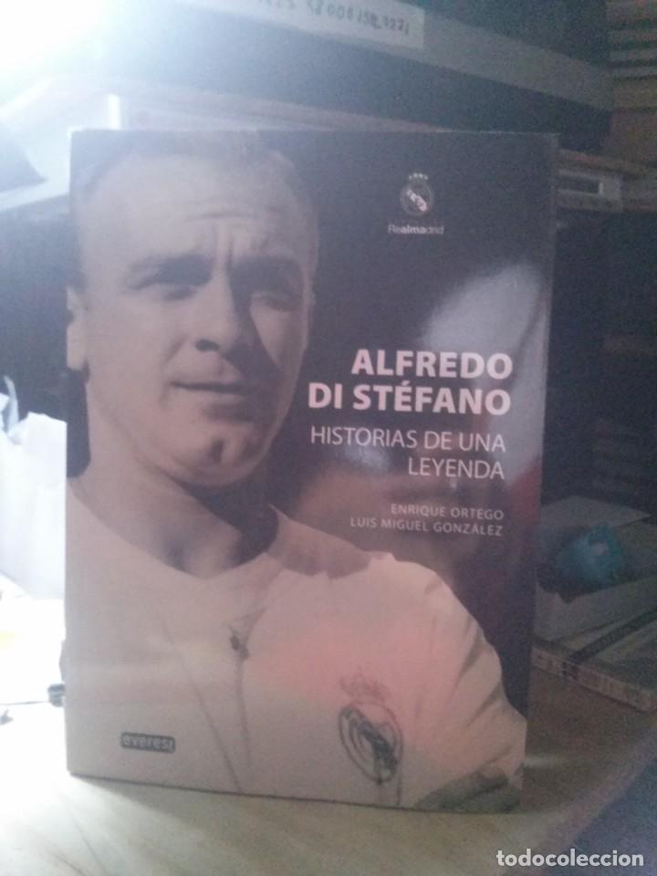 ALFREDO DI STEFANO, HISTORIA DE UNA LEYENDA, ED. EVEREST (Libros de Segunda Mano - Biografías)