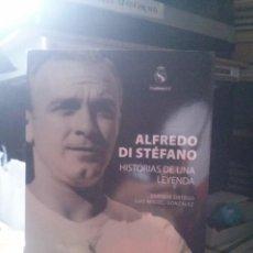 Libros de segunda mano: ALFREDO DI STEFANO, HISTORIA DE UNA LEYENDA, ED. EVEREST. Lote 269083338