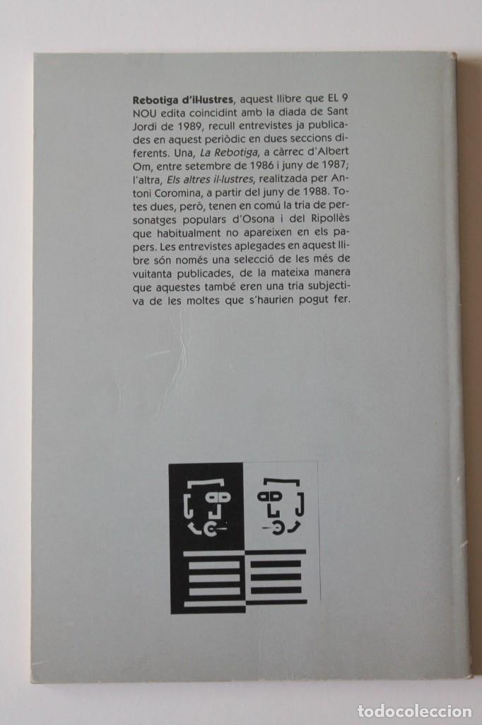 Libros de segunda mano: Antoni Coromina i Albert Om - Rebotiga dil·lustres - El 9 Nou - Foto 3 - 269088138
