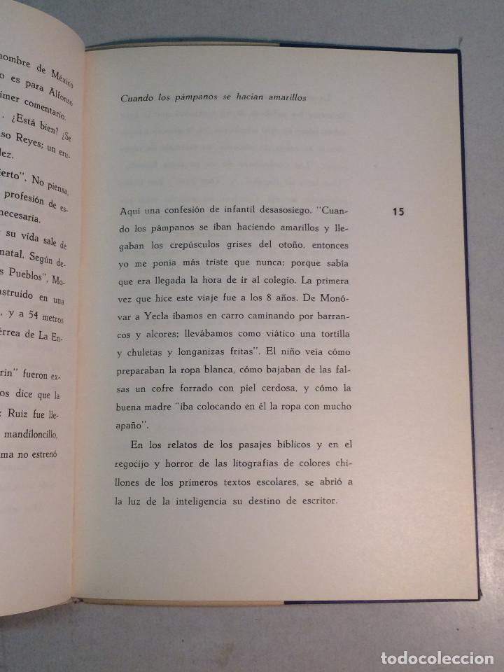 Libros de segunda mano: René Tirado Fuentes: Reencuentro con Azorín (1965) - Foto 5 - 269088433