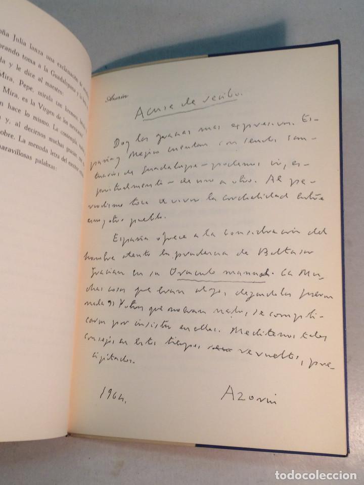 Libros de segunda mano: René Tirado Fuentes: Reencuentro con Azorín (1965) - Foto 6 - 269088433