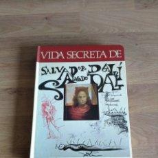 Libros de segunda mano: VIDA SECRETA DE SALVADOR DALÍ PER SALVADOR DALÍ.. Lote 269182863