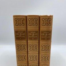 Libros de segunda mano: FACSIMIL DE GIL BLAS DE SANTILLANA DE LESAGE. 3 TOMOS.AMIGOS CIRCULO DEL BIBLIOFILO. BARCELONA, 1979. Lote 269276628