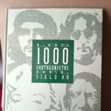 Libros de segunda mano: LOS 1000 PROTAGONISTAS DEL SIGLO XX. Lote 269279533