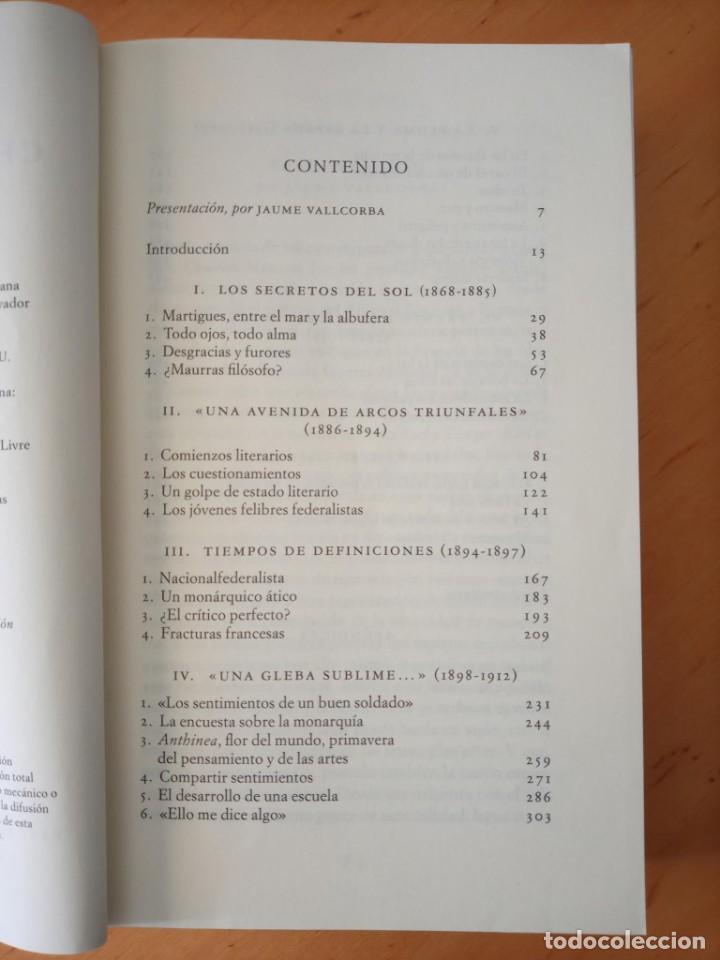 Libros de segunda mano: STEPHANE GIOCANTI CHARLES MAURRAS EL CAOS Y EL ORDEN - Foto 7 - 269984983