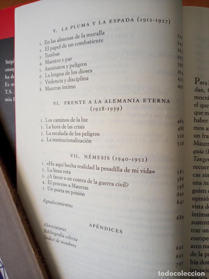 Libros de segunda mano: STEPHANE GIOCANTI CHARLES MAURRAS EL CAOS Y EL ORDEN - Foto 8 - 269984983