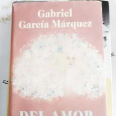 Libros de segunda mano: DEL AMOR Y OTROS DEMONIOS GABRIEL GARCIA MARQUEZ ED. CIRCULO LECTURA 1995 PASTA DURA CON CUBIERTA 2. Lote 270000513