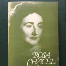 Libros de segunda mano: ROSA CHACEL. ALCANCÍA/IDA. Lote 270089983