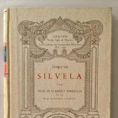 Libros de segunda mano: FRANCISCO SILVELA. Lote 270095348