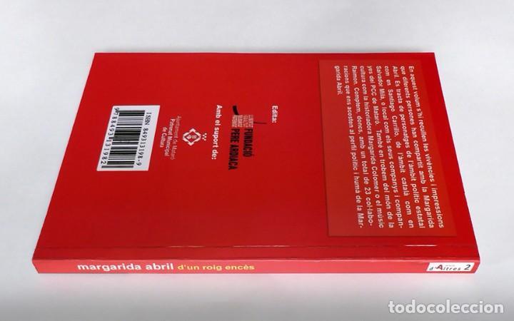 Libros de segunda mano: DUN ROIG ENCÈS - MARGARIDA ABRIL - Foto 3 - 269979708