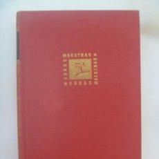 Libros de segunda mano: OBRAS MAESTRAS : MEMORIAS DE CELLINI . EDITORIAL IBERIA, 1959. Lote 271645508