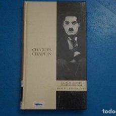 Libros de segunda mano: LIBRO DE CHARLES CHAPLIN EL GENIO DEL CINE MANUEL VILLEGAS LOPEZ Nº 14 AÑO 2003 ABC EDICIONES FOLIO. Lote 275460973