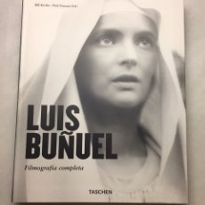 Libros de segunda mano: LUIS BUÑUEL FILMOGRAFÍA COMPLETA TASCHEN LIBRO NUEVO. Lote 276162148