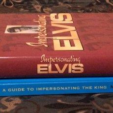 Libros de segunda mano: ELVIS PRESLEY 2 LIBROS. Lote 276165328