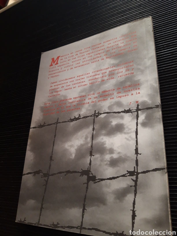 Libros de segunda mano: Memoria en carne viva Pascual Castejon Joaquín Mindan - Foto 9 - 277131643
