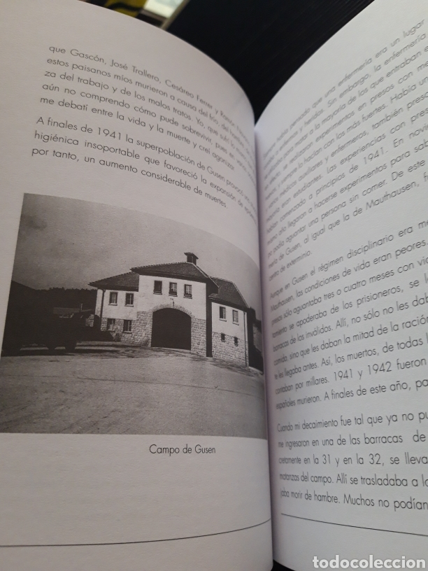 Libros de segunda mano: Memoria en carne viva Pascual Castejon Joaquín Mindan - Foto 10 - 277131643