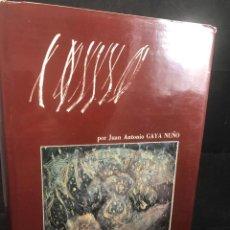 Libros de segunda mano: VIDA Y OBRA DE PANCHO COSSÍO. JUAN ANTONIO GAYA NUÑO. IBÉRICO EUROPEA DE EDICIONES. 1973. Lote 277434463