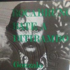 Livres d'occasion: ROCABRUNO BAT Y DITIRAMBO, GONZALO SUAREZ, ED. EDHASA. Lote 277515628