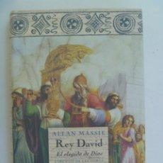 Libros de segunda mano: REY DAVID , EL ELEGIDO DE DIOS. DE ALLAN MASSIE . CIRCULO DE LECTORES, 1999. Lote 277719783