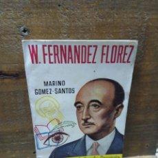 Libros de segunda mano: PEQUEÑA HISTORIA DE GRANDES PERSONAJES. CLIPER. W. FERNÁNDEZ FLOREZ. 20. Lote 278386838
