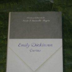 Libros de segunda mano: EMILY DICKINSON - CARTAS -ED.LUMEN 2009. Lote 278761793