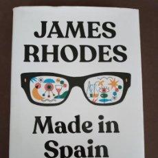 Libri di seconda mano: MADE IN SPAIN, JAMES RHODES. PENGUIN RANDOM HOUSE.. Lote 283827898