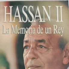 Libros de segunda mano: HASSAN II. LA MEMORIA DE UN REY. ERIC LAURENT.. Lote 285212573