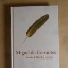 Libros de segunda mano: MIGUEL DE CERVANTES - ANDRES TRAPIELLO - PROTAGONISTAS DE LA HISTORIA Nº 14 - 2004. Lote 287078678