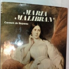 Libros de segunda mano: MARÍA MALIBRAN 1808-1836.. Lote 287477313
