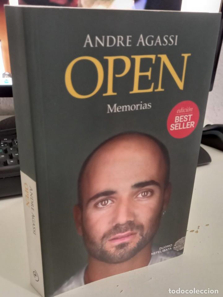OPEN MEMORIAS - AGASSI, ANDRE (Libros de Segunda Mano - Biografías)