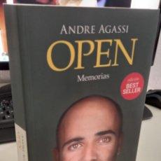 Libros de segunda mano: OPEN MEMORIAS - AGASSI, ANDRE. Lote 287775013