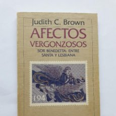 Livres d'occasion: AFECTOS VERGONZOSOS BROWN, JUDITH C.,TAPA BLANDA, 1989. Lote 287859268