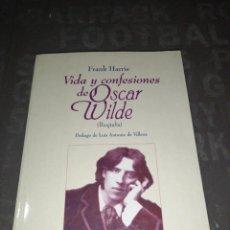 Libros de segunda mano: FRANK HARRIS - VIDA Y CONFESIONES DE OSCAR WILDE. Lote 287958433