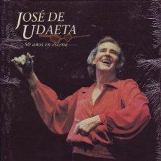 Libros de segunda mano: JOSE DE UDAETA, 50 AÑOS EN ESCENA. (EL ARTE DE VIVIR)- CARLOS MURIAS. ED. DEL SERBAL. 1995. Lote 288099898