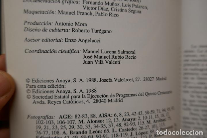 Libros de segunda mano: SIMÓN BOLIVAR, EL LIBERTADOR DEMETRIO RAMOS PÉREZ - ANAYA - Foto 8 - 288547908