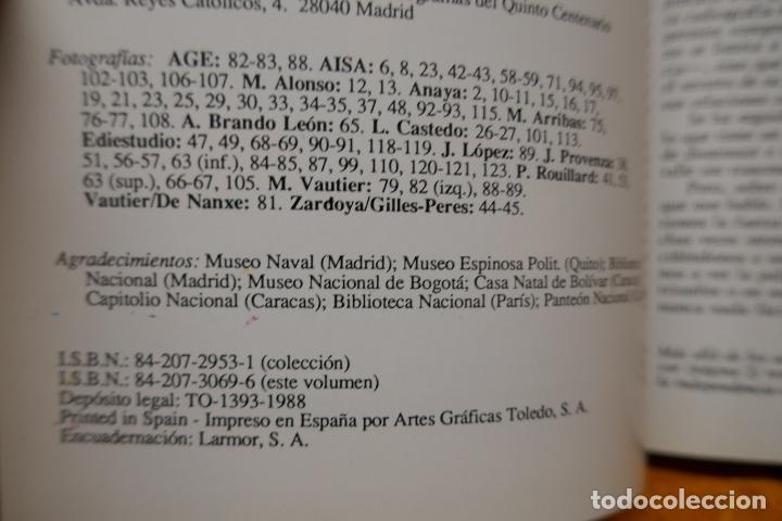 Libros de segunda mano: SIMÓN BOLIVAR, EL LIBERTADOR DEMETRIO RAMOS PÉREZ - ANAYA - Foto 9 - 288547908
