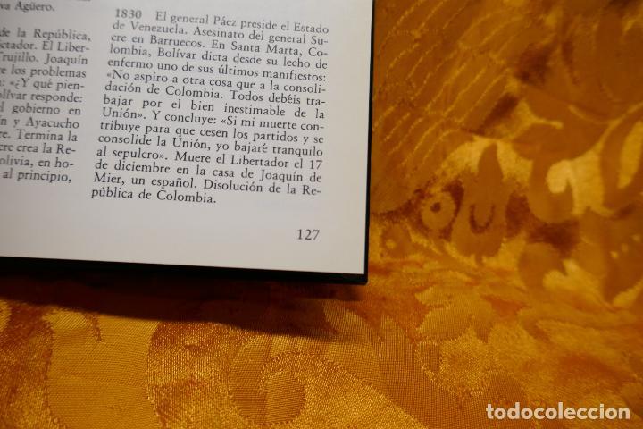 Libros de segunda mano: SIMÓN BOLIVAR, EL LIBERTADOR DEMETRIO RAMOS PÉREZ - ANAYA - Foto 15 - 288547908